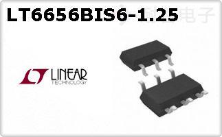 LT6656BIS6-1.25