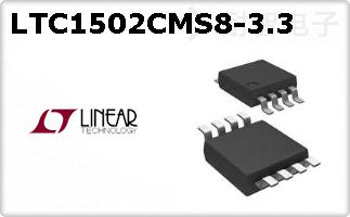 LTC1502CMS8-3.3